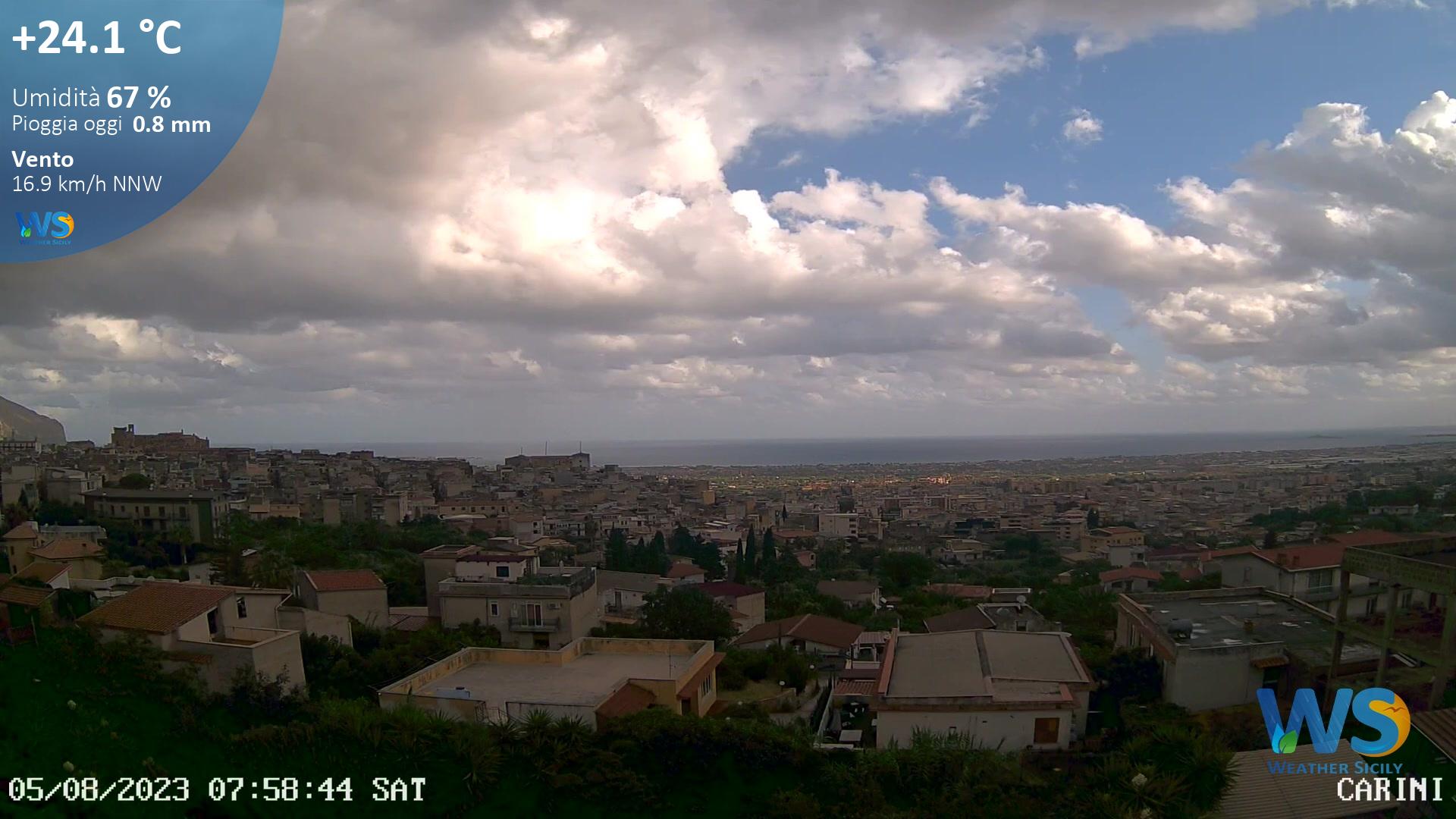 WebCam Carini Live - Palermo